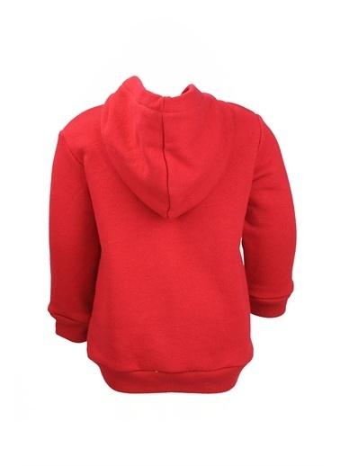 Zeyland Baskılı Kapüşonlu Sweatshirt (9ay-4yaş) Baskılı Kapüşonlu Sweatshirt (9ay-4yaş) Kırmızı